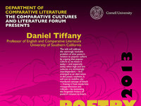 """Poetry and Kitsch: a Secret History""- Lecture by Daniel Tiffany"