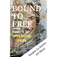 Bound to Free: Senior Art Exhibition and Student Open House