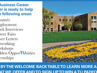 Business Career Center WELCOME BACK STUDENTS!