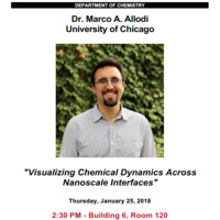 Special Seminar: Dr. Marco A. Allodi, University of Chicago