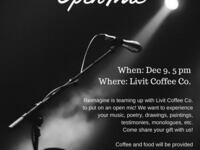 Open Mic Night @ Livit Coffee Co.