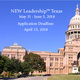 NEW Leadership Texas - Applications are now open