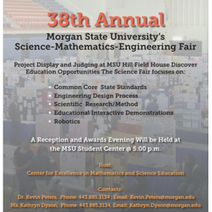 38th Annual Science-Mathematics-Engineering Fair