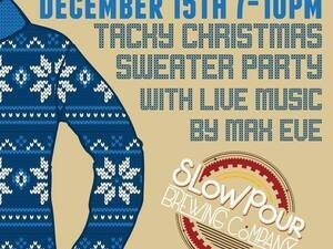 Tacky Christmas Sweater Party