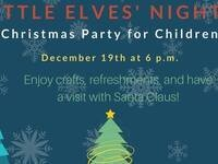 Little Elves' Night @ Milton-Freewater Public Library