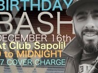 Old Skunk Beard's Birthday Bash w/ The Shop Singers - live music @ Club Sapolil