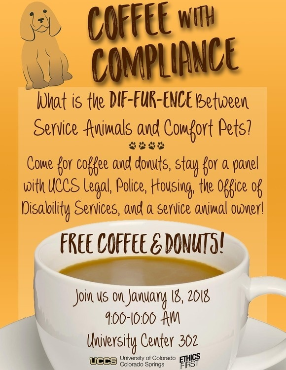 Coffee with Compliance Event