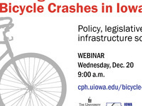 Webinar: Strategies to End Fatal Bicycle Crashes in Iowa