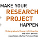 Undergraduate Research Fellowship Info Session