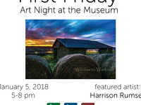 First Friday Art Night at the Museum: Harrison Rumsey Debut Photography Show