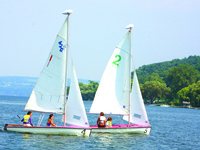 The Sailing Clinic: A CAU summer program led by Pat Crowley and Fred DeBruyn