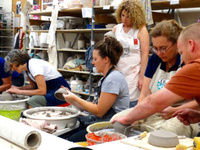 Throwing Clay: A Pottery Studio Workshop — A CAU summer program led by Julia Dean