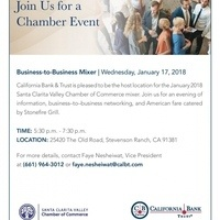 Santa Clarita Valley Chamber of Commerce After Hours Mixer