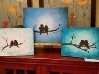 Lovebird Painting Party @ Weinhard Hotel