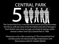 The Central Park Five Film Screening