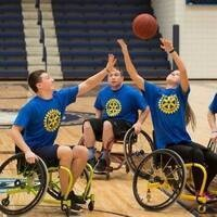Circle K 4-on-4 Wheelchair Basketball