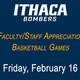 SAVE THE DATE! Faculty/Staff Appreciation Night
