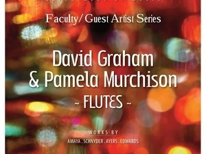 Faculty/Guest Artist Series: Murchison & Graham, Flute Duo