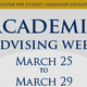 Leadership Studies Minor Advising Week