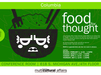 Asian Pacific American Heritage Month Kickoff: Food for Thought