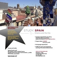 Study: Spain Cinema and the City Information Sessions (Lincoln Park Campus)