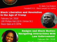 """The Justice and Liberation Series: """"Black Liberation and Revolution in the Age of Trump"""""""