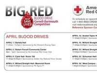 Cornell-Dartmouth Blood Drive Competition