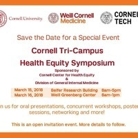 Cornell Tri-Campus Health Equity Symposium