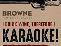 Karaoke @ Browne Family Tasting Room