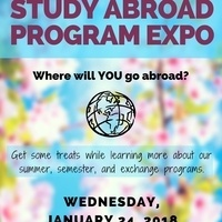 Study Abroad Spring Expo
