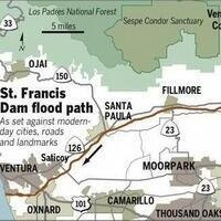 ST FRANCIS DAM DISASTER: 90TH ANNIVERSARY FLOOD PLAIN TOUR
