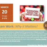 Team Work: Why it Matters!