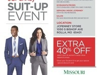 COER hosts JCPenney Suit-up Event