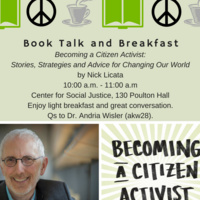 Book Talk and Breakfast: Becoming a Citizen Activist: Stories, Strategies and Advice for Changing Our World by Nick Licata