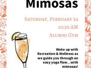 Homecoming Yoga & Mimosas (SOLD OUT)