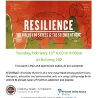 """Screening of """"Resilience: The Biology of Stress & the Science of Hope"""""""
