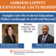 Lippitt Centennial Lectureship: Insights into the Federal Education Policy Landscape in 2018 and Beyond