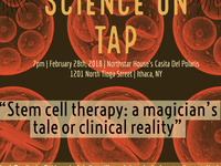 Science on Tap: Stem cell therapy: a magician's tale or clinical reality