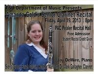 Amanda Gold, Clarinet - Senior Recital
