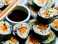 Sushi Social (Because that's how we roll!)