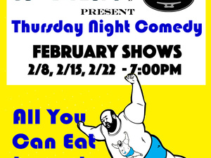 ComedyFLOPs & The Dock Present: Thursday Night Comedy - All You Can Eat Improv
