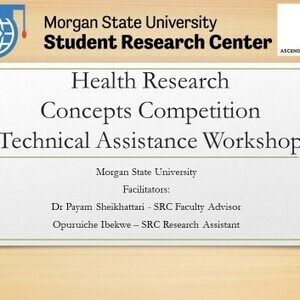Technical Assistance Workshop for the Health-Research Concepts Competition (HRCC)