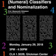 (Numeral) Classifiers and Nominalization
