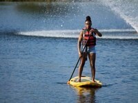 Stand Up Paddle Boarding at NRC