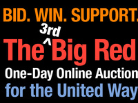 The 3rd Big Red One-Day Online Auction for the United Way