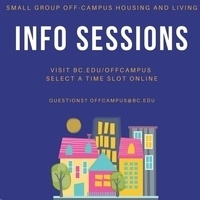 Small Group Off-Campus Info Sessions