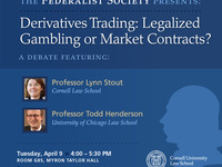 Derivatives Trading: Legalized Gambling or Market Contracts? - A Debate