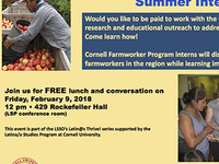 Cornell Farmworker Summer Internship