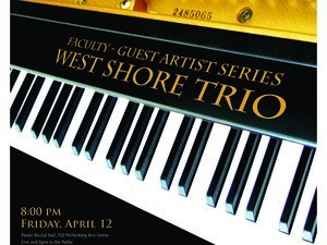 Faculty/Guest Artist Series: West Shore Piano Trio