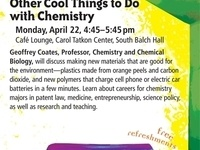 Coffeehouse: Molecular Design & Other Cool Things to Do with Chemistry